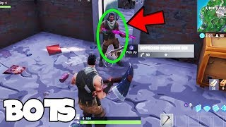 BOTS In FORTNITE... (NEW GAMEPLAY WITH EPIC'S RESPONSE)