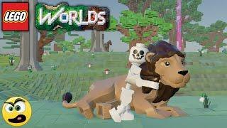 LEGO Worlds - Episódio #10 - A Caveira e o Leão - Caraca Games