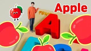 슈퍼 히어로 마슈와 알파벳 & 색깔 영어 배우기! 영어 정말 쉬워요!! Learn Alphabet A to Z & Colors - 마슈토이 Mashu ToysReview