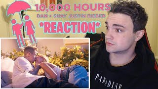 *REACTION* Dan + Shay, Justin Bieber - 10,000 Hours (Official Music Video)