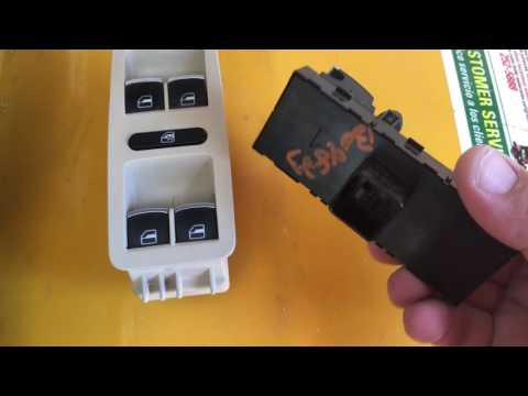 VW Passat 2012 and up driver window switch replacement