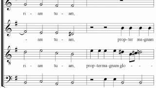 Vivaldi - Gloria - 5 - Propter magnam gloriam - The 16