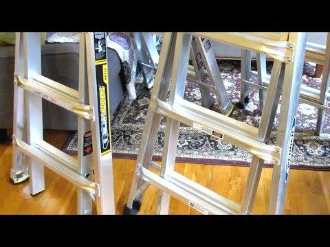 Gorilla MPX22 vs Werner MT-22 | Multi-Position Ladder