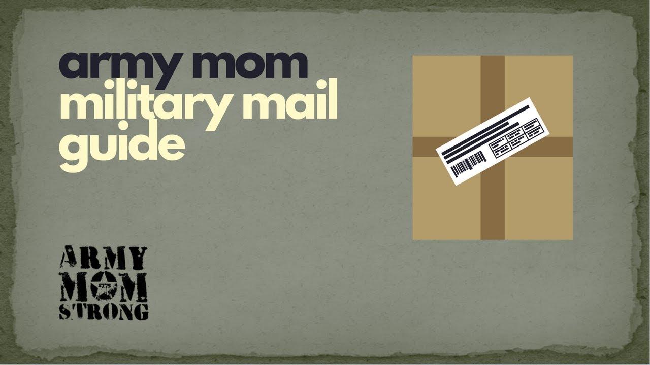 Military Mail Basics – APO/FPO/DPO