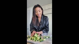 Jeannie's Easy Cucumber Salad Recipe