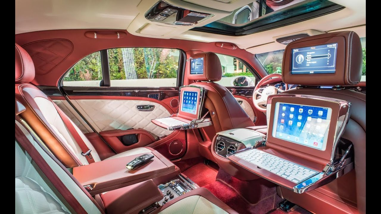 10 most luxurious car interior designs youtube for Auto interior design ideas