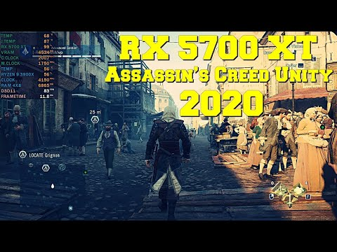 Assassin's Creed Unity it's still a demanding game (PC) | RX 5700 XT | Ryzen 9 3900X - 1440p |