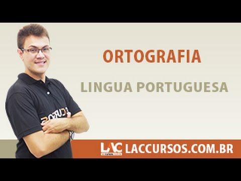 Aula 12/38 - Ortografia - Língua Portuguesa - Sidney Martins