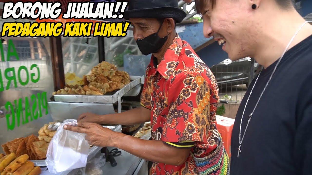 BORONG JUALAN PEDAGANG KAKI LIMA! + KONDISI JAKARTA SELAMA LEBARAN! #TikTokBonusID