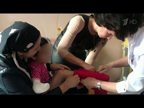 Аиша из Ингушетии, которую избивала родная тетя и которой ампутировали руку, встретилась с мамой.