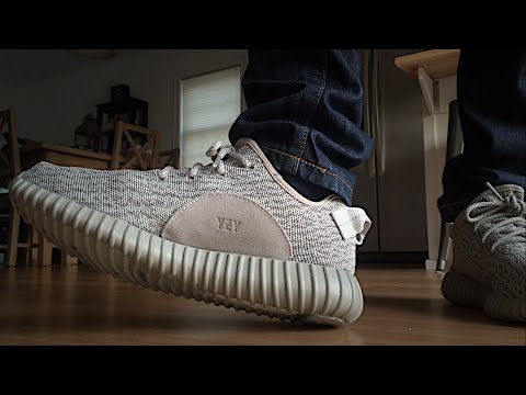 """ON FEET: adidas Yeezy 350 Boost """"Moon Rock"""""""