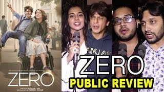 Zero Movie Public Review | Shahrukh Khan, Katrina Kaif, Anushka Sharma | First day First Show