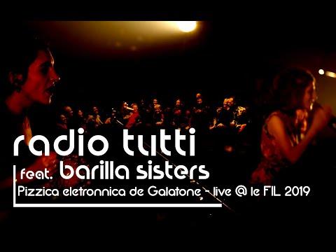 Pizzica elettronica de Galatone (live 2019) Radio Tutti & Barilla Sisters