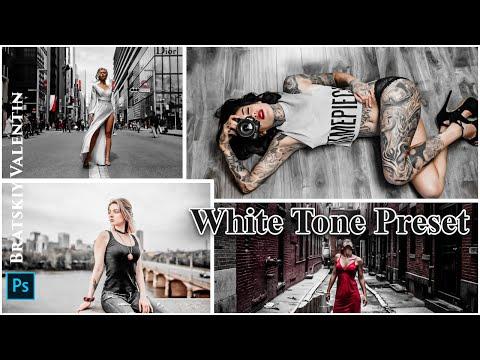 White Tone Preset Photoshop Lightroom
