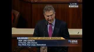 Repeat youtube video Congressman Joe Garcia Speaks in Support of Veterans, Seniors, and South Florida Community