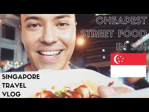 🇸🇬 SINGAPORE TRAVEL VLOG 2019   Singaporean Street Food + Central Perk Cafe   EPISODE 1