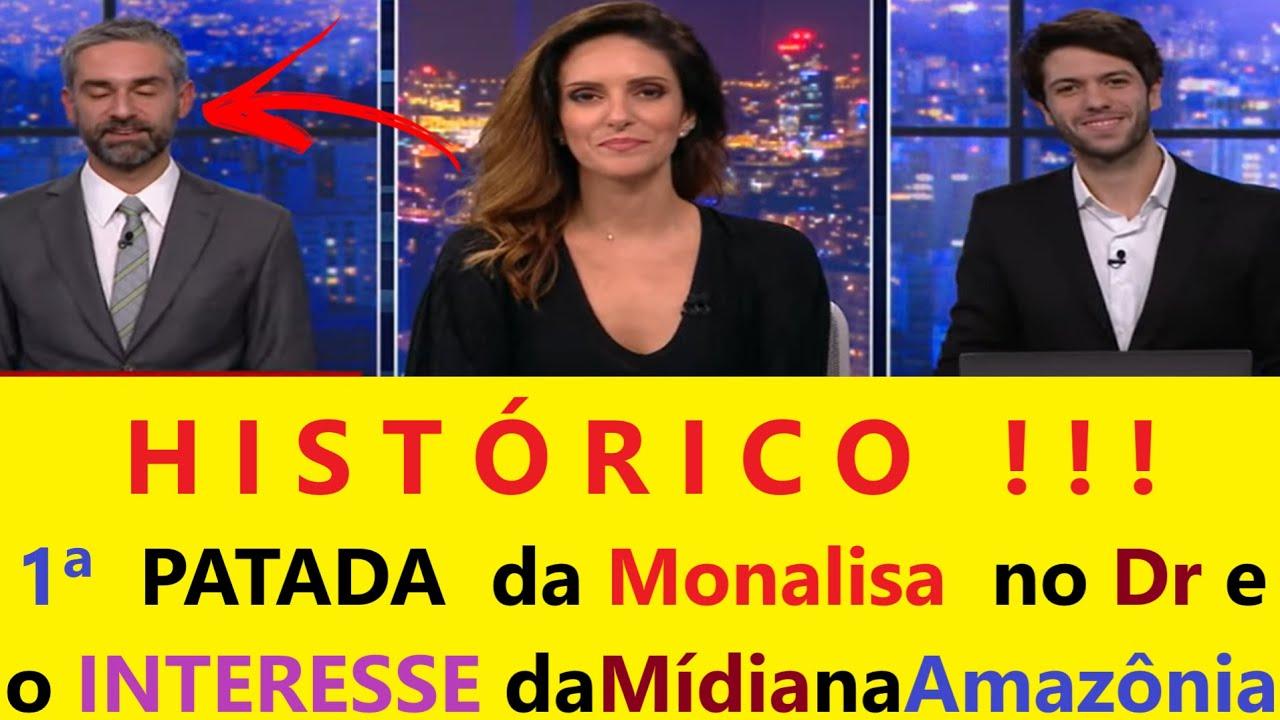 Caio Coppolla DIZ q Mídia TROCA Amazônia PELO IMPEACHMENT de Bolsonaro e 1ª PATADA de Monalisa no Dr