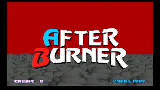 After Burner - Arcade Full Playthrough - SEGA 1987 HD