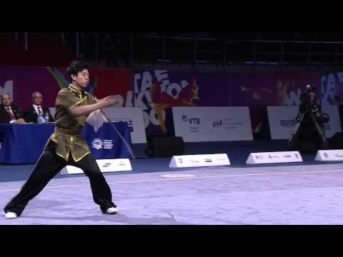2nd SportAccord World Combat Games (2013) - Wushu (Taolu) - Men's CQ, DS, GS - 3rd Place