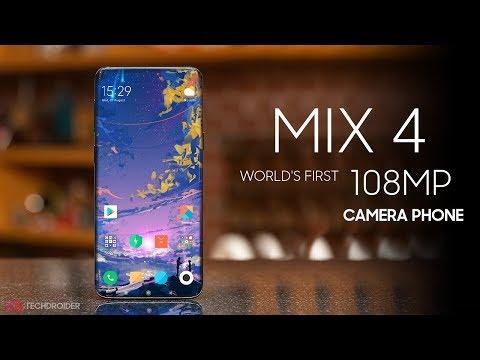 Xiaomi Mi MIX 4 Worlds First 108MP Camera Smartphone