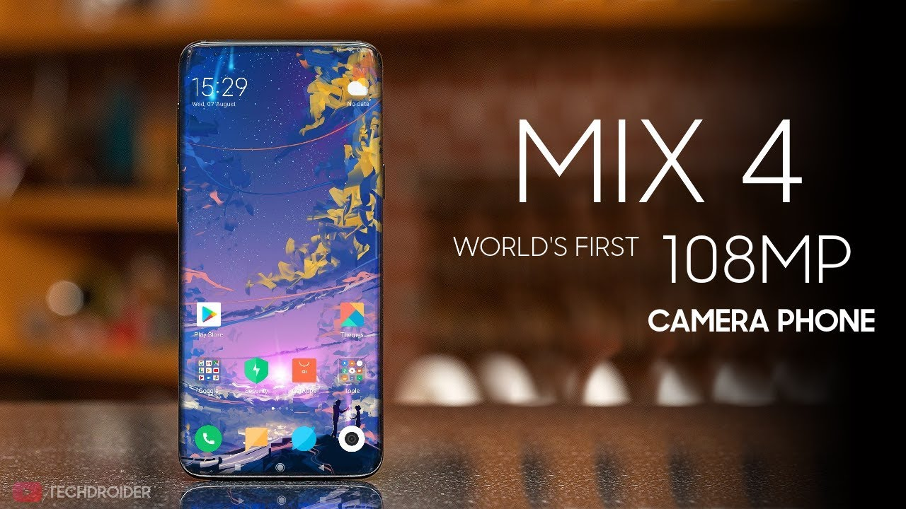 Xiaomi Mi MIX 4 - World's First 108MP Camera Smartphone