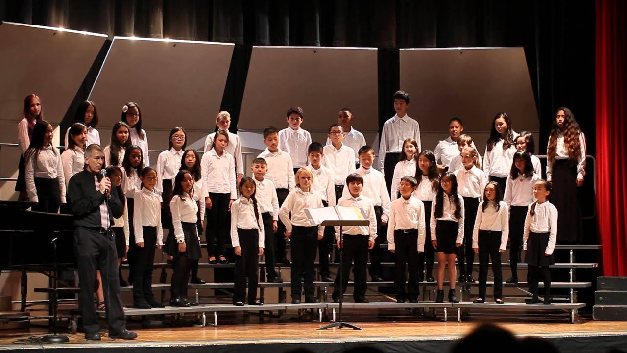 Hoover Middle School Winter Chorus Concert Beginning Chorus