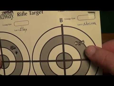 Kimber Model 82 Government 22LR Accuracy Test 50 Yards