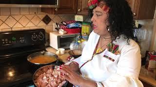 Tania Hernandez's Curry Chicken Chickpeas