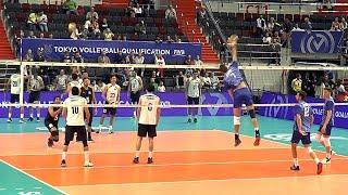 Волейбол Нападающий удар Сборные России vs Мексики