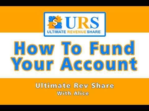 URS | Ultimate Revenue Share – How To Add Funds & Setup Payment Processor – Tutorial