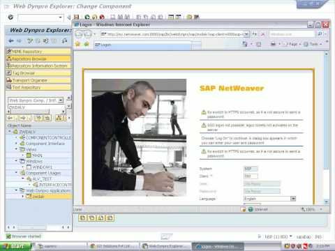 webdynpro message handling