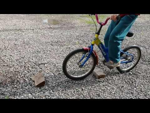 Тест- драйв на велосипед