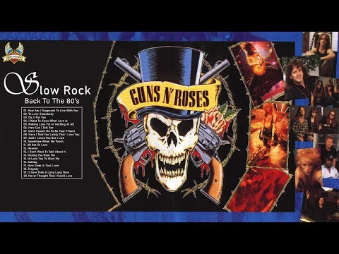 Slow Rock love song nonstop - Rock Ballads 70's, 80's, 90's - Best Rock Ballads of All Time