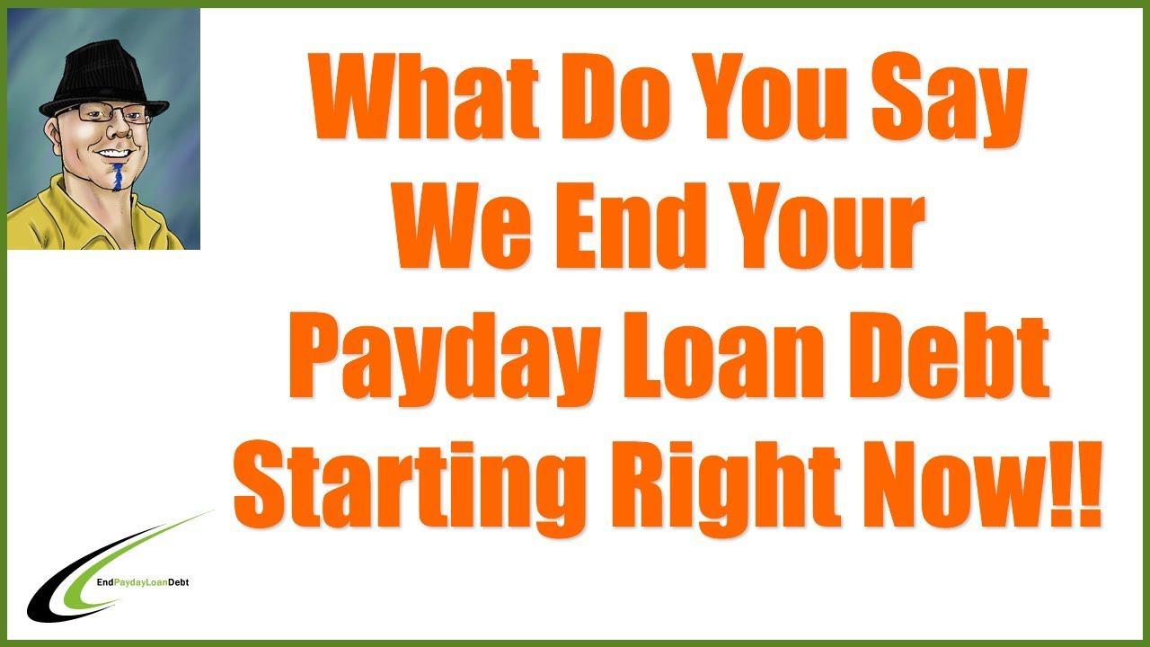 Payday Loan Debt Solution You Can End Your Debt Today