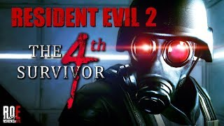 RESIDENT EVIL 2    The 4th Survivor (Classic) Completed Run