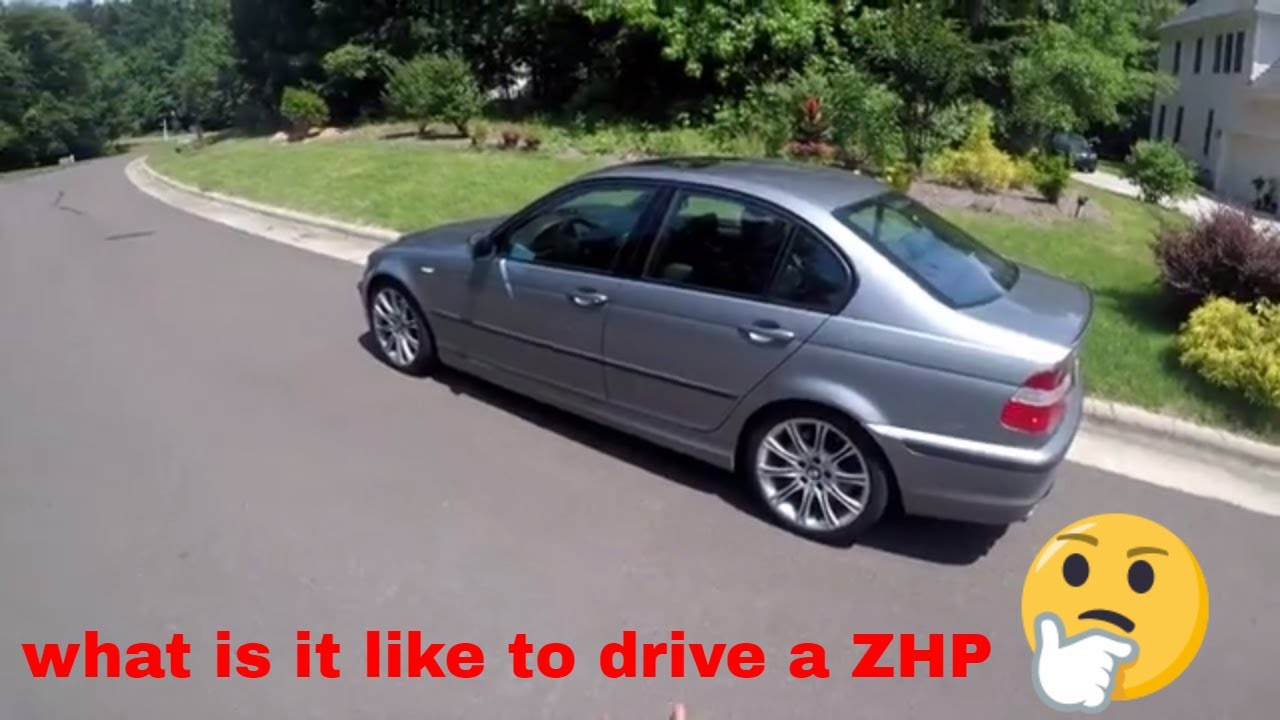 what is it like to drive a 2004 bmw e46 330i zhp [ 1280 x 720 Pixel ]