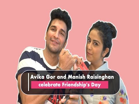 Friendship's Day: Avika Gor, Manish Raisinghan have a blast together