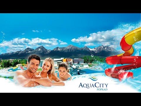 AquaCity Poprad Official Promo Video 2015
