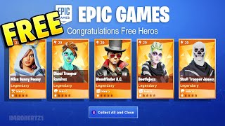 Free Legendary Heroes Easy & Fast Save The World Fortnite PvE