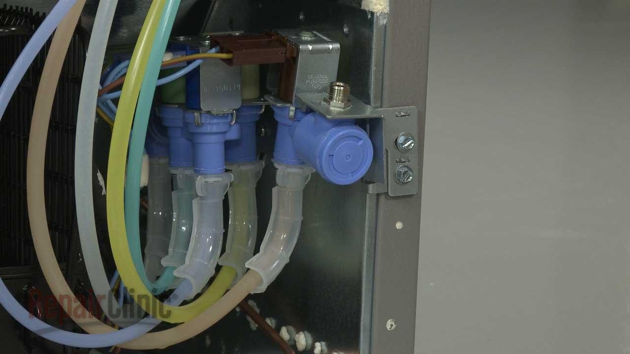 frigidaire refrigerator replace water inlet valve  [ 1280 x 720 Pixel ]