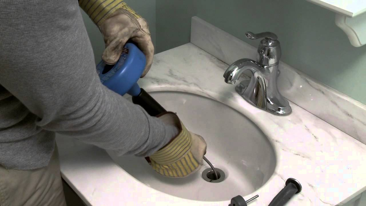 How to Unclog a Drain - YouTube