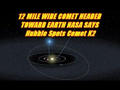 PLANET X NEWS - 12 MILE WIDE COMET HEADED TOWARD EARTH ...