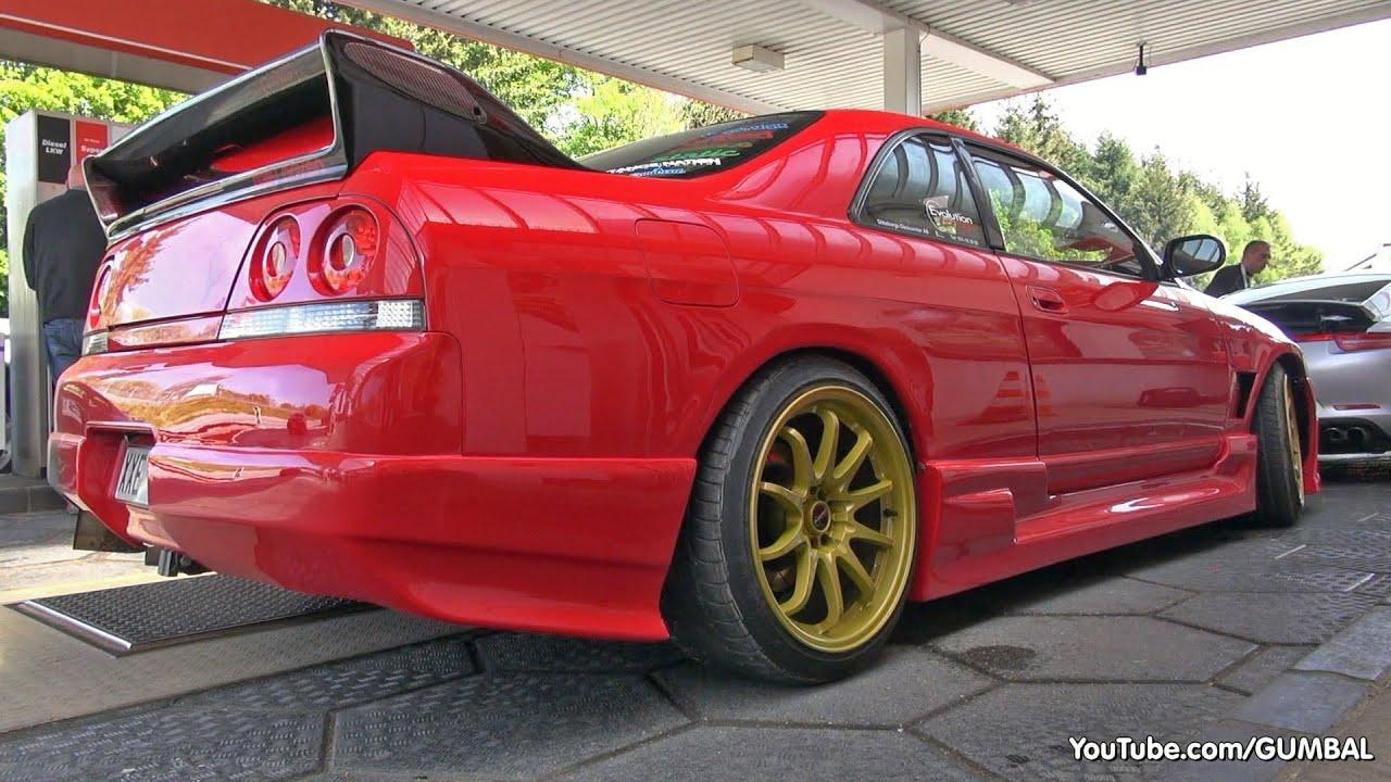 Nissan Skyline Gt R R33 V Spec Toyota Supra Sound