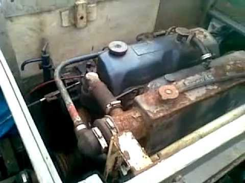 80 Hp Marine Ford Diesel Engine Youtube