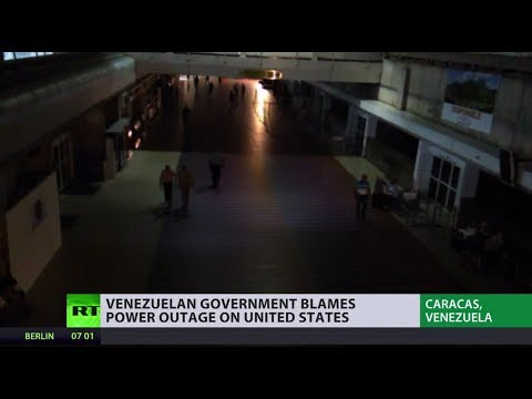 Venezuela blackout: 'Electricity war' waged by US or just poor state of domestic infrastructure?