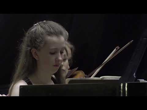 Alice Power Plays Mozart Piano Concerto No.20 In D-minor