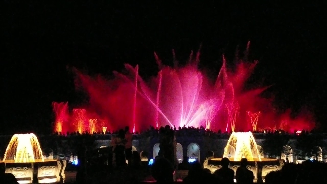 Longwood Gardens Fountain Show 2017 Youtube