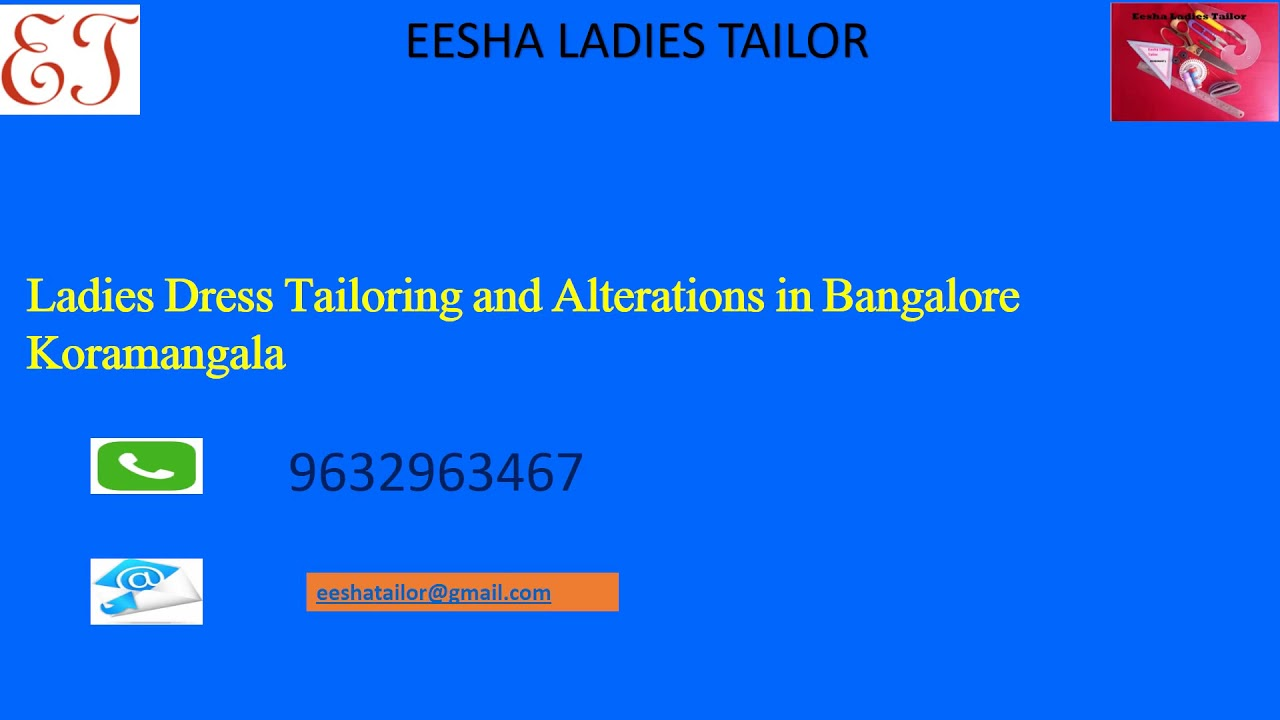 Ladies Tailoring and Alterations in Koramangala