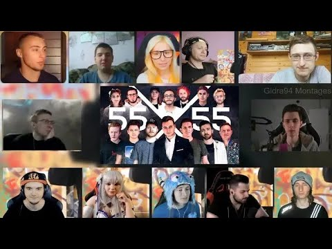 [REUPLOAD]55x55 and Exile – SOUNDS OF BLOGGERS | RUSSIAN REACTION MASHUP