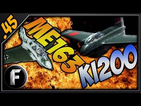 War Thunder : THE KI-200 AND ME-163 ROCKETS!!